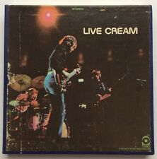 Live Cream 4-Track Reel To Reel Tape ORIG Atco X-328 - Eric Clapton / Lawdy Mama
