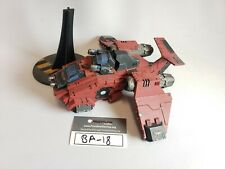 Warhammer 40k Space Marine Blood Angels Stormraven Gunship Fully Painted (BA-18)