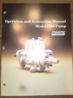 OEM Stanadyne Model DB4 Pump Operation and Instruction Manual