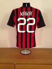 AC Milan Home Camisa 2013/14 * 22 * Pequeño Vintage Raro Kaka