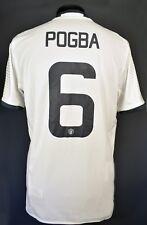 5/5 sz L Paul Pogba Manchester United jersey shirt adidas 2016/2017 third Soccer