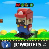 Lego Brickheadz -Mario MOC Creation - PDF Instructions Only - NO BRICKS INC