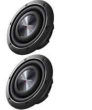 """(2) PIONEER TS-SW3002S4 12"""" 1,500-Watt Shallow-Mount Subwoofer with Single 4ohm"""