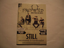 Freiwild - Fankatalog / Fanzine/Frei.Wild/Kalender 2014/Poster/Merchandise/Still