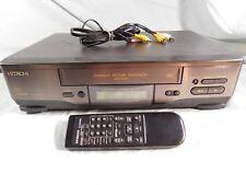 Hitachi VT - FX621A VHS VCR Video Cassette Recorder Player Hi-Fi 4Head w Remote