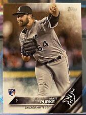 2016 Topps Baseball Matt Purke #US103 Chicago White Sox RC