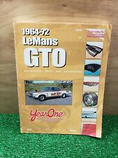 YEAR ONE LeMans GTO 2002  Restoration Parts And Accessories Catalog