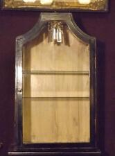 "Antique Curio Cabinet Lighted 28""H 18""W"