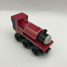 Thomas & Friends Wooden Railway Train Red Skarloey Tomy Pretend Play Toy