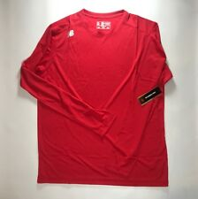 New Balance Men's Tmmt501 Tech Tee Long Sleeve Red Shirt Size M Nwt
