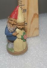 """Rare Tom Clark Gnome """"The Best Is Yet To Be"""" Wedding Bride & Groom - 1996"""
