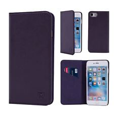 32nd Classic Series - Real Leather Book Wallet Case Cover - Apple iPhone 6 & 6S