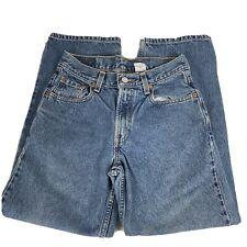 Boys Levis 550 Jeans Relaxed Fit Size 14 Reg 100% Cotton Vintage