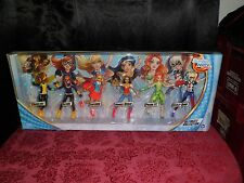 DC SUPER HERO GIRLS ULTIMATE COLLECTION -6 PACK DOLLS