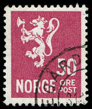 Scott # 175 -1937 - ' Lion Rampant '