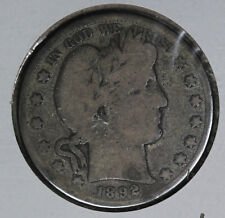 Better Date 1892-S Barber Half Dollar!!