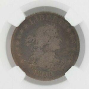 1806 25C Draped Bust Quarter NGC VG8