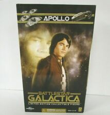 "Battlestar Galactica Captain Apollo 12"" Figure Sealed Majestic Studios"