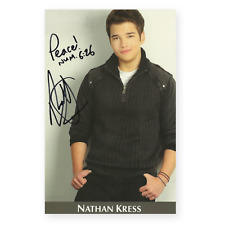 Nathan Kress Signed Autograph Autographed Photo iCarly