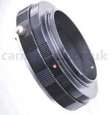 MACRO Sony Alpha A AF Minolta MA lens to Canon EOS camera Mount Adapter ring