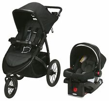 Graco Baby RoadMaster Jogger Travel System Stroller w/ Infant Car Seat