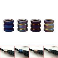 Titanium Alloy EDC Knife Beads Paracord Beads Outdoor Parachute Cord Gadget J DD