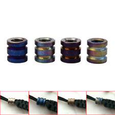 Titanium Alloy EDC Knife Beads Paracord Beads Outdoor Parachute Cord Gadget Xed