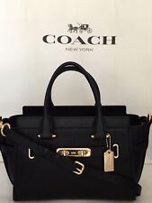 COACH 87295 Swagger 27 Pebble Leather LI/Back Handbag Satchel Purse NWT