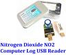 Computer Log USB Plug Play Nitrogen Dioxide NO2 Gas Sensor Detection 0 - 20ppm
