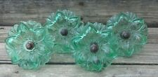 Green Curtain Glass Tie-Backs Four Pieces  New Drapery Curtains Home Decor