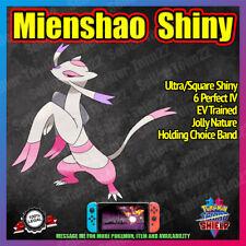 MIENSHAO Ultra Shiny | Competitive Battle Ready | 6IV | Pokemon Sword Shield