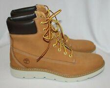 "Timberland KENNISTON Womens 6"" Sneaker Boots Wheat Nubuck Sz 11M - NWOB A161U"