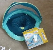 Aqua Leisure SwimSchool Sunshade Fabric BabyBoat in Blue