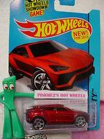 Case B 2015 Hot Wheels LAMBORGHINI URUS #23 US New!∞met Red∞HW City∞Street Power