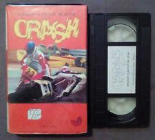 VHS Ita Motociclismo Emozioni e Pericoli Da Corsa CRASH ex nolo no dvd(VH63)
