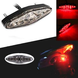 Somke 15 LED Motorcycle ATV Bike Brake Stop Tail Light Rear Lamp 12V Universal