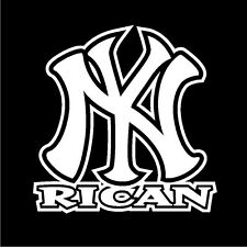 PUERTO RICO CAR DECAL NY Rican  #115