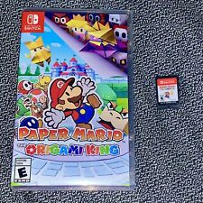 Paper Mario: The Origami King (2020, Switch) - Mint Condition