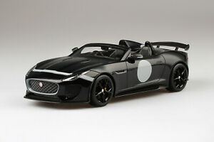TS0168 - 1/18 JAGUAR F-TYPE PROJECT 7 BLACK LIMITED 999 PIECES (RESIN)