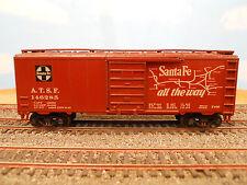 "HO SCALE KAR-LINE SANTA FE ATSF 146285 ""SUPER CHIEF"" 40' BOX CAR"