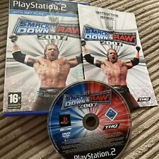 WWE SmackDown vs. Raw 2007 (Sony PlayStation 2, 2006) Complete Wrestling