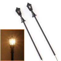 20pcs HO Scale 1:100 Model Garden Street Lights Lamppost Light Layout 6.8cm