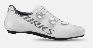 2021 SPECIALIZED S-Works Vent Road Shoes WHITE 43 9.6 Carbon BOA *New In Box*