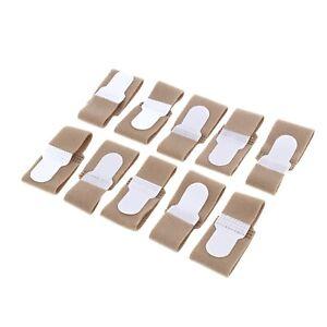 Toe Strap Soft Separator Finger Support Protector Brace Bunion Splint Corrector