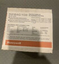 Honeywell R8184G  Protectorelay Control 120V/60Hz, 24V safety switch-NEW in Box