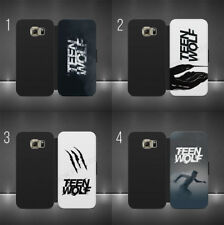 TEEN WOLF DEREK SCOTT DYLAN  TV SERIES PHONE Flipa Wallet cas FOR SAMSUNG iPhone