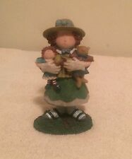 Lang & Wise Sue Dreamer Carol Figurine First Edition 1998 Retired Euc