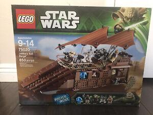 LEGO STAR  WARS 75020 JABBA'S SAIL BARGE - NISB