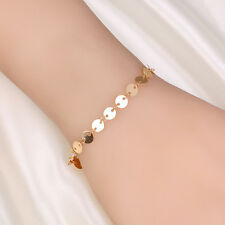 Hot Fashion Retro Style Bracelet Women Girls Gold Charm Chain For Ladies Girls