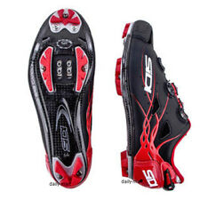 New SIDI TIGER Carbon Mountain MTB Cycling Shoes Matte Black Red US Warehouse